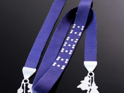 collar azul textil tachitas completo torsion copie